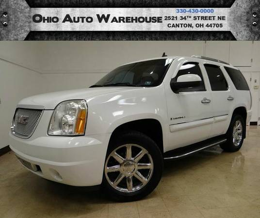 2007 *GMC* *Yukon* *Denali* AWD Sunroof DVD Clean Carfax We Finance -&