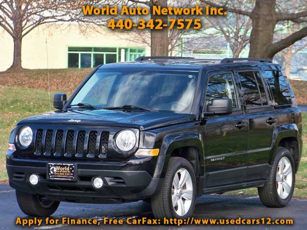 2012 Jeep Patriot Latitude. Alloy Wheels. Fog Lights. FULLY LOADED.