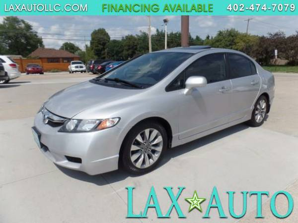 2011 Honda Civic EX-L Sedan 90,030 miles * SUNROOF-LEATHER