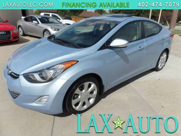 2013 Hyundai Elantra Limited * Sunroof! Heated Leather! 1-Owner!