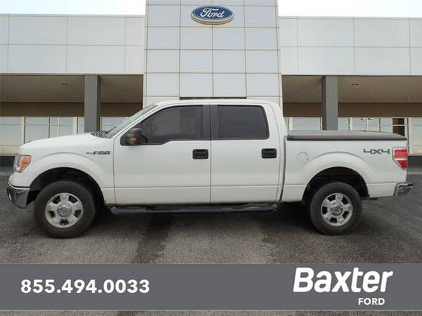 2013 Ford F-150 4x4 XLT 4dr SuperCrew Styleside 5.5 ft. SB 4WD...