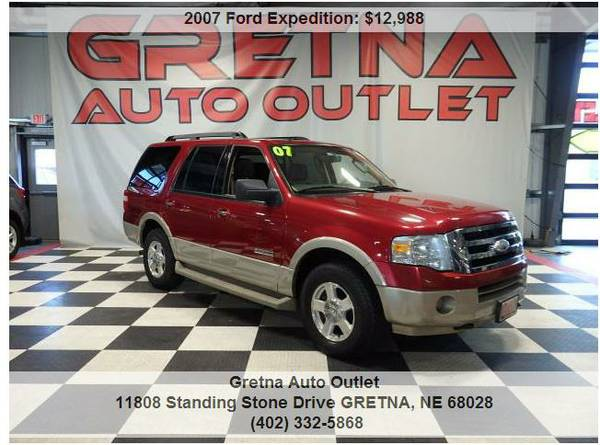 2007 Ford Expedition*EDDIE BAUER 4X4 LEATHER SEATS 8 REAR DVD**TEXT US