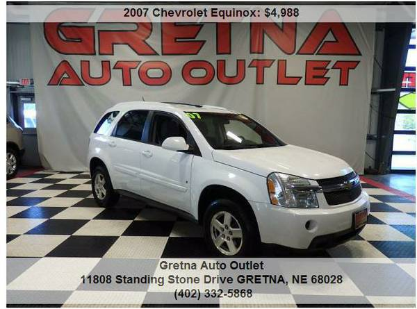 2007 Chevrolet Equinox**LT AWD PERFECT STUDENT DRIVER V6 LOADED**CALL