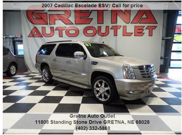 2007 Cadillac Escalade ESV*AWD ONLY 99K NAV ROOF DVD POWER 3RD &GATE!!