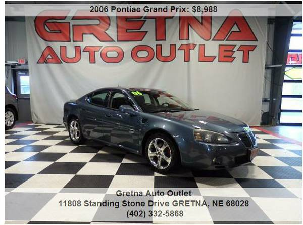 2006 Pontiac Grand Prix*GXP 5.3 V8 ONLY 96K HEATED LEATHER ROOF LOADED
