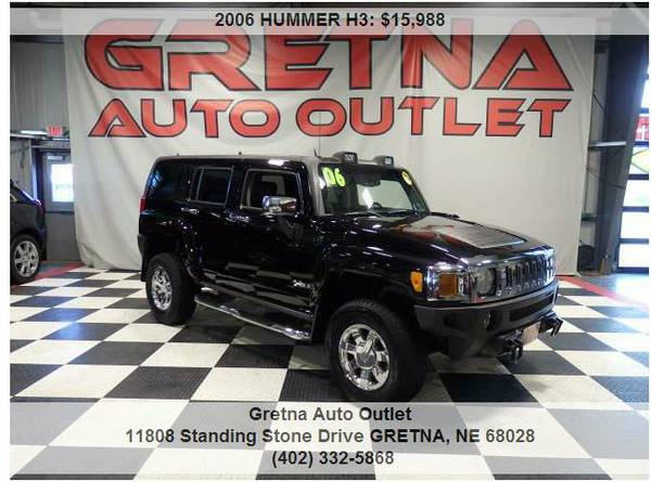 2006 HUMMER H3*LUXURY EDITION 75K 4X4 MOONROOF HEATED LEATHER**TEXT US