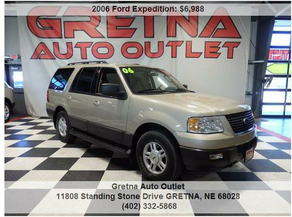 2006 Ford Expedition*XLT 4X4 AFFORDABLE FULL SIZE FAMILY SUV**CALL US!