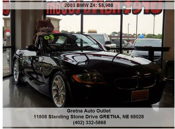 2003 BMW Z4**2.5i ROADSTER CONVERTIBLE ONLY 99K HEATED LEATHER LOADED*