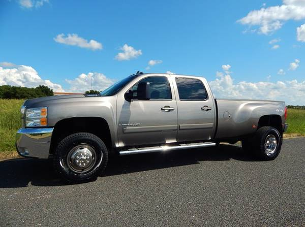 ALMOST NEW! 77K MILE 2007 CHEVY SILVERADO 3500 LOADED LTZ W/ REAR DVD