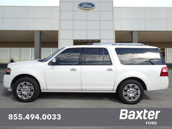 2013 Ford Expedition EL 4x4 Limited 4dr SUV Limited only 25,950 miles