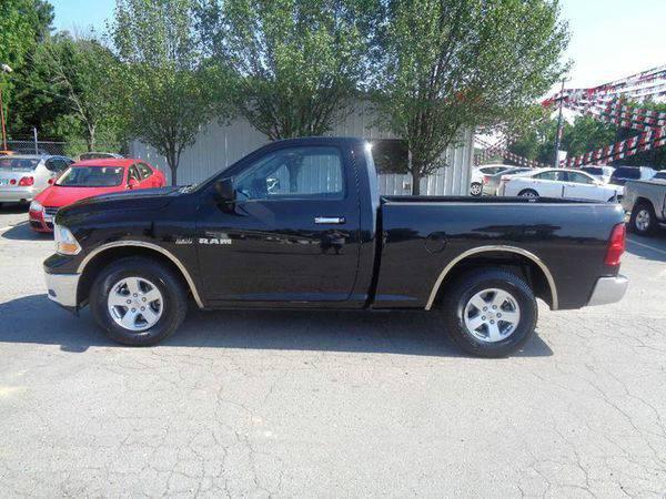 2010 *Dodge* *Ram* *Pickup* *1500* SLT 4x2 2dr Regular Cab 6.3 ft. SB