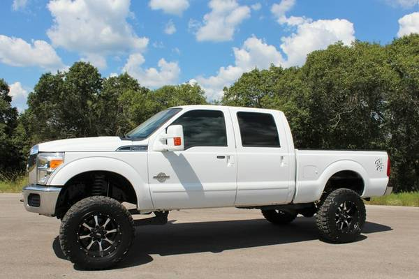 COLOR MATCH 2011 FORD F-250 DIESEL NEW LIFT- NEW WHEELS- NEW TIRES