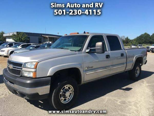 2007 *Chevrolet* *Silverado* *Classic* *2500HD* LT1 Crew Cab 4x4 Duram