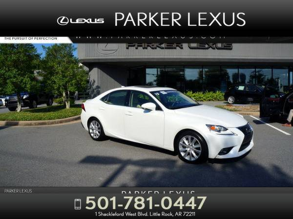 *2015* *Lexus Is 250* *4DR SDN* White