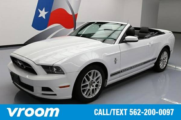 2014 Ford Mustang V6 Premium 2dr Convertible Convertible 7 DAY RETURN