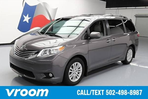 2015 Toyota Sienna 7 DAY RETURN / 3000 CARS IN STOCK