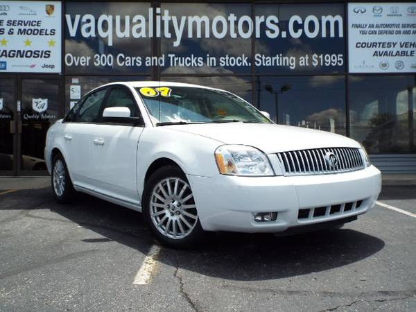 2007 MERCURY MONTEGO BUY HERE PAY HERE 1000.00 DOWN