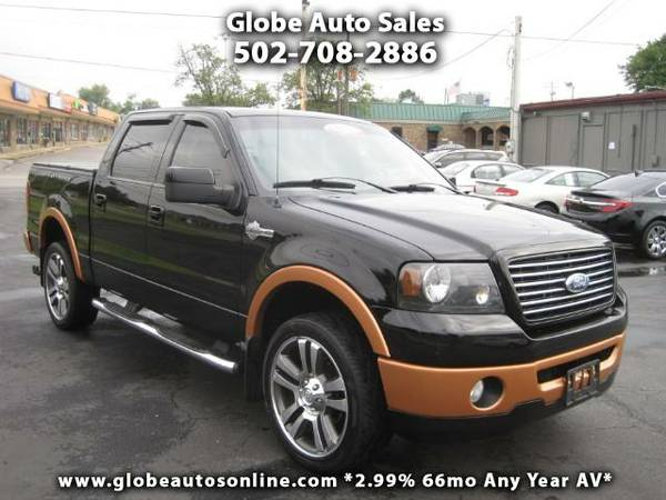 *LOW MILES* 2007 Ford F-150 Harley-Davidson Crew Cab 4x4 - 2.99% 66mo