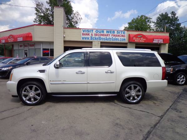 --* 2007 CADILLAC ESCALADE ESV *-- WARRANTY * CASH * FINANCE * TRADES