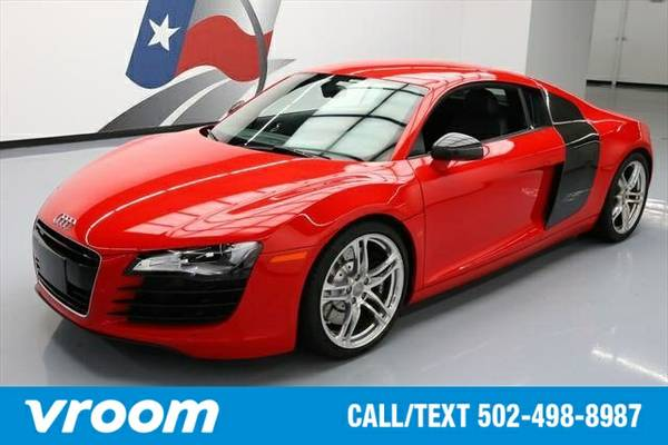 2012 Audi R8 AWD 4.2 quattro 2dr Coupe 6A Coupe 7 DAY RETURN / 3000 CA