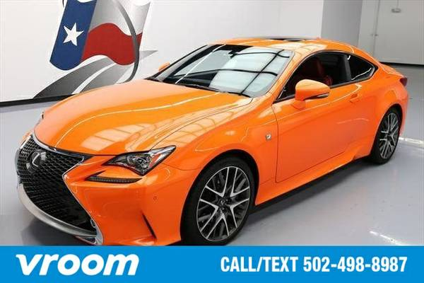 2015 Lexus RC 350 2dr Coupe Coupe 7 DAY RETURN / 3000 CARS IN STOCK