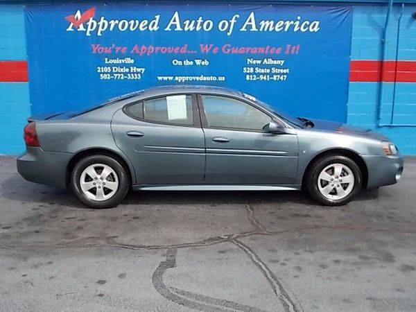 2007 *Pontiac* *Grand* *Prix* Sedan - $299 DOWN SALE!!