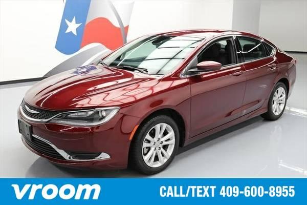 2015 Chrysler 200 Limited 4dr Sedan Sedan 7 DAY RETURN / 3000 CARS IN