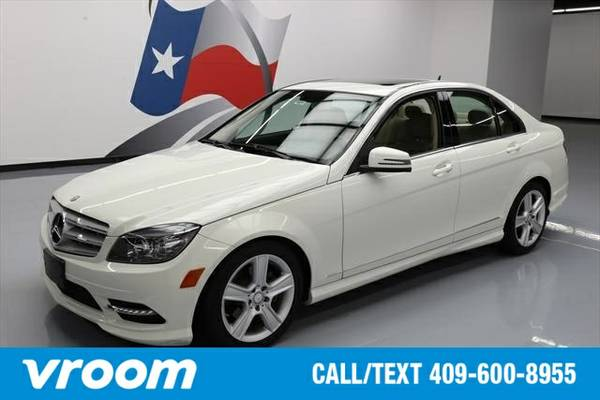 2011 Mercedes-Benz C-Class 7 DAY RETURN / 3000 CARS IN STOCK