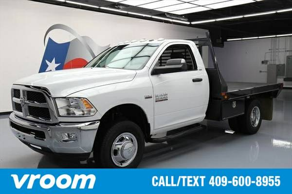 2014 RAM 3500 HD Chassis SLT 2dr Regular Cab 4WD 143.5 in. WB (6.4L 8c