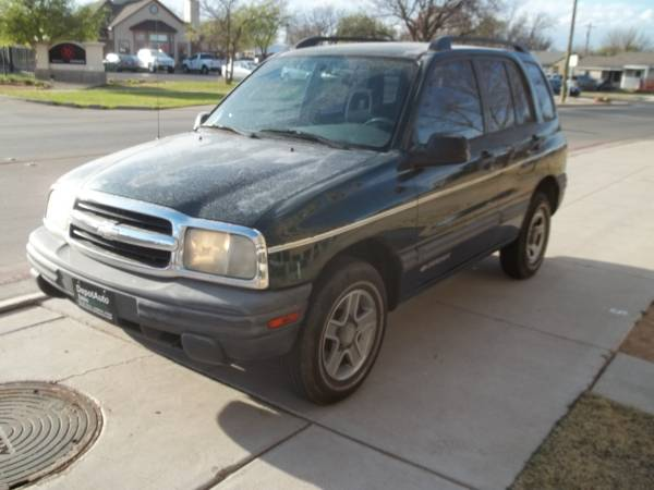 >>> $500 DOWN *** 2003 CHEVY TRACKER 4X4 *** EASY APPROVAL...