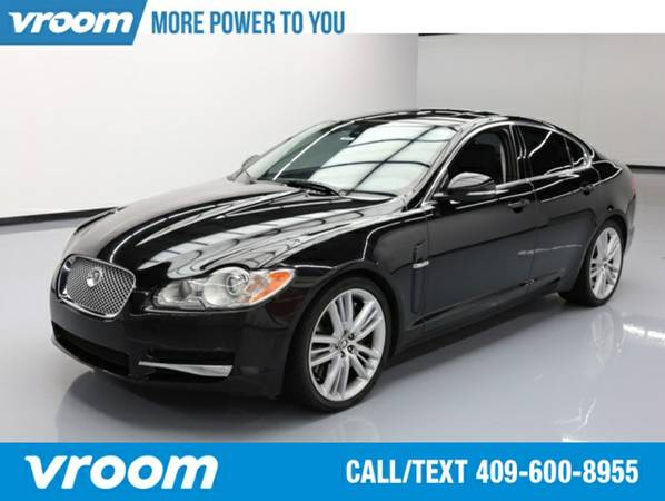 2011 Jaguar XF Supercharged Sedan 7 DAY RETURN / 3000 CARS IN STOCK