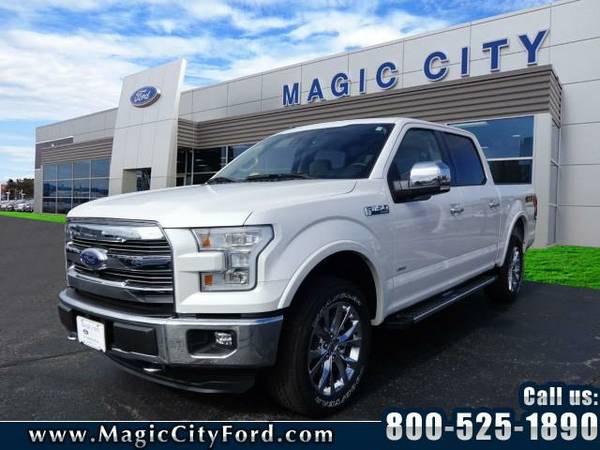 2016 *Ford F-150* Lariat (White Platinum)