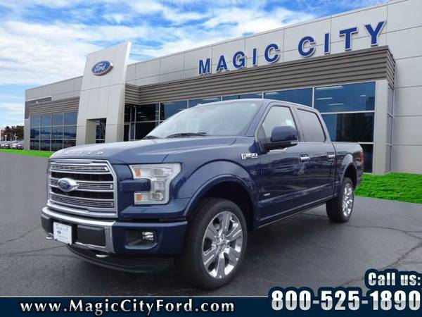 2016 *Ford F-150* Limited (Blue)