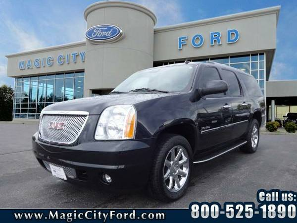 2012 *GMC Yukon XL* Denali (Black)