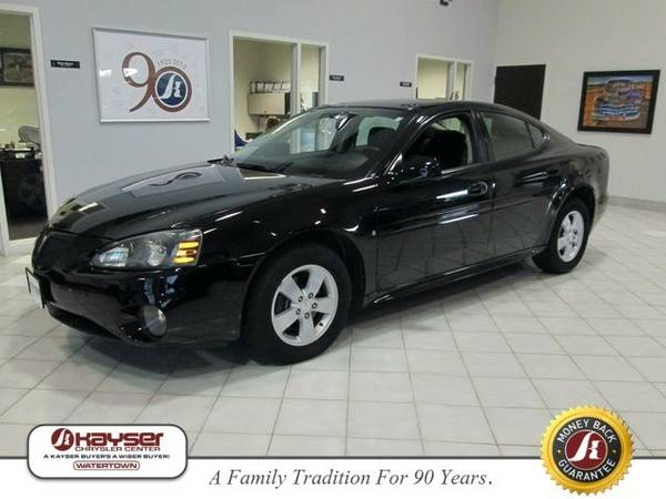 2008 Pontiac Grand Prix Base Sedan Grand Prix Pontiac