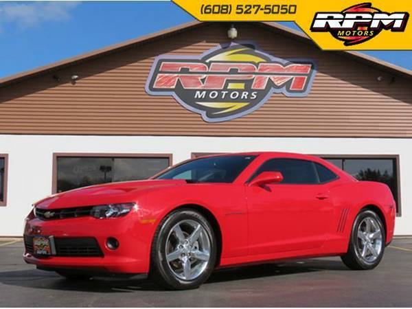2015 Chevy Camaro LT - 1 Owner - Low Miles!