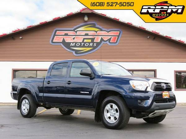2012 Toyota Tacoma SR5 Double Cab 4x4 - Low Miles