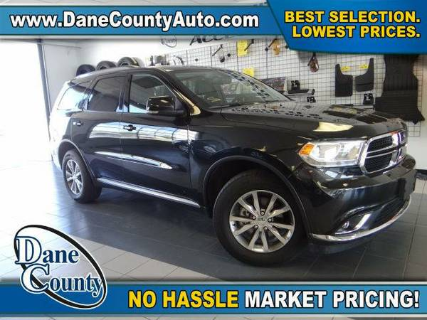 2015 *Dodge Durango* Limited - Dodge Brilliant Black Crystal Pearlcoat