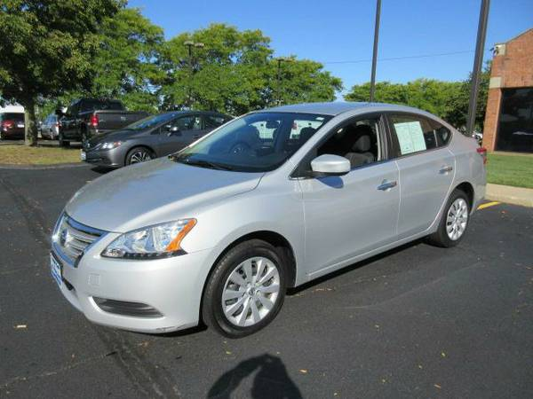 Stock P5373 2015 Nissan Sentra Sedan SV - Contact Tyler in the...