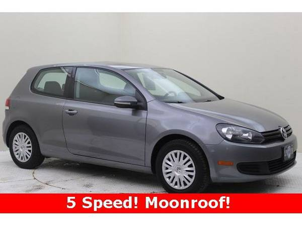 2011 *Volkswagen Golf* 2.5L (United Gray Metallic)
