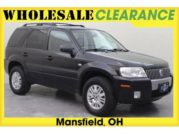 2007 *Mercury Mariner* Luxury (Black Clearcoat)