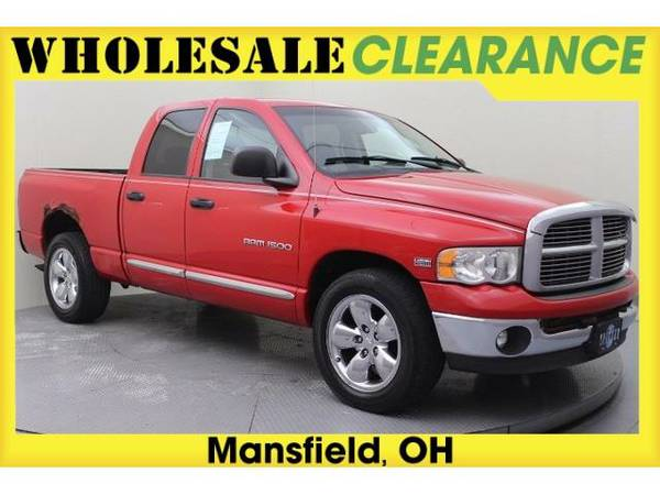 2004 *Dodge Ram 1500* (Flame Red Clearcoat)