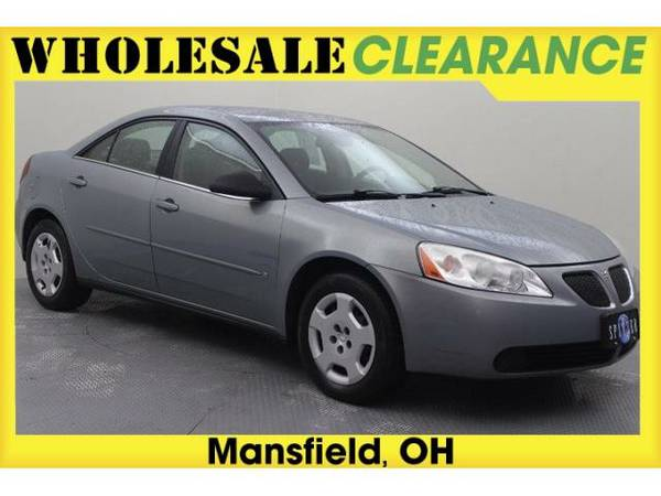 2007 *Pontiac G6* Value Leader (Liquid Silver Metallic)