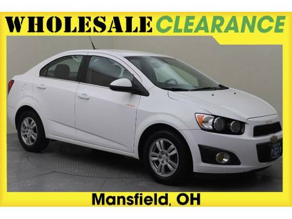 2012 *Chevrolet Sonic* (Summit White)