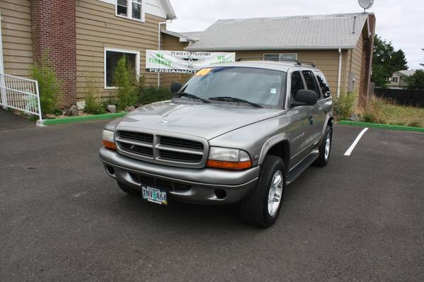 2000 DODGE DURANGO R/T SLT LOADED