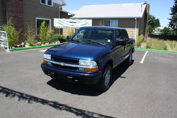 2003 CHEVROLET S-10 CREW CAB AT