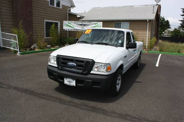2007 FORD RANGER XCAB AT 2WD