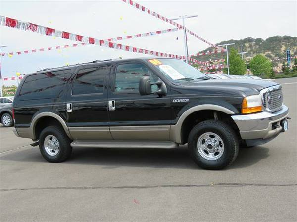 2000 *Ford Excursion* Limited (Blue)
