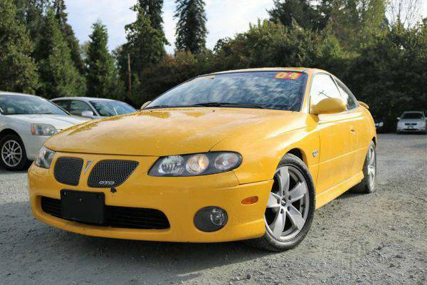 2004 *Pontiac* *GTO* Base 2dr Coupe - Multiple Locations to CHOOSE fro