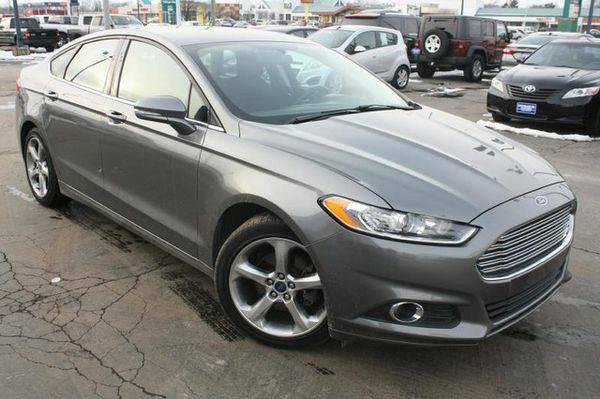 2013 *Ford* *Fusion* SE -100% FINANCING GUARANTEED!!